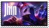 LoL stamp  Jhin BloodMoon by SamThePenetrator