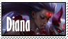 LoL stamp  Diana BloodMoon by SamThePenetrator