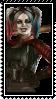 IGAU2 Harley Quinn stamp by SamThePenetrator