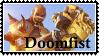 Doomfist Overwatch  stamp by SamThePenetrator