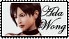 ResidentEvil4  Ada Wong  stamp by SamThePenetrator