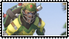 Overwatch summer games  Junkrat  Cricket stamp by SamThePenetrator