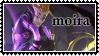 Overwatch Moira  stamp by SamThePenetrator