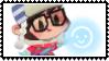 Overwatch Chibi stamp Mei by SamThePenetrator