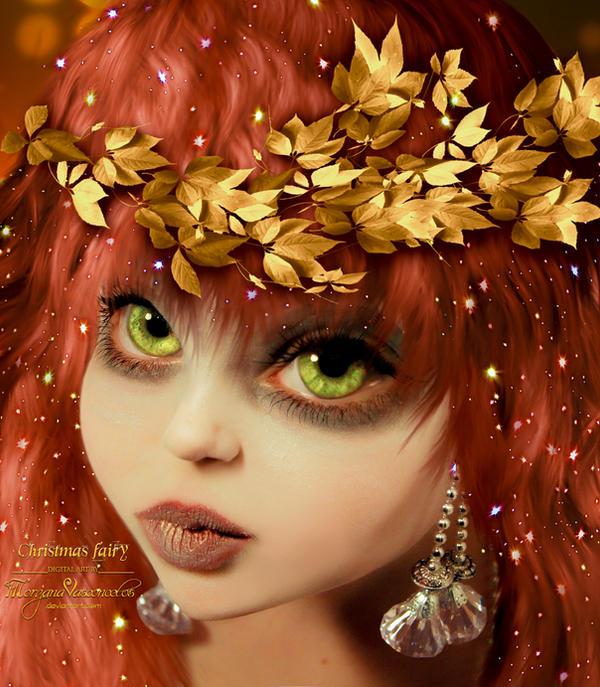 Christmas Fairy by MorganaVasconcelos