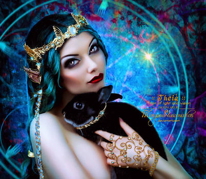 THEIA :: Goddess of Light and Vision by MorganaVasconcelos