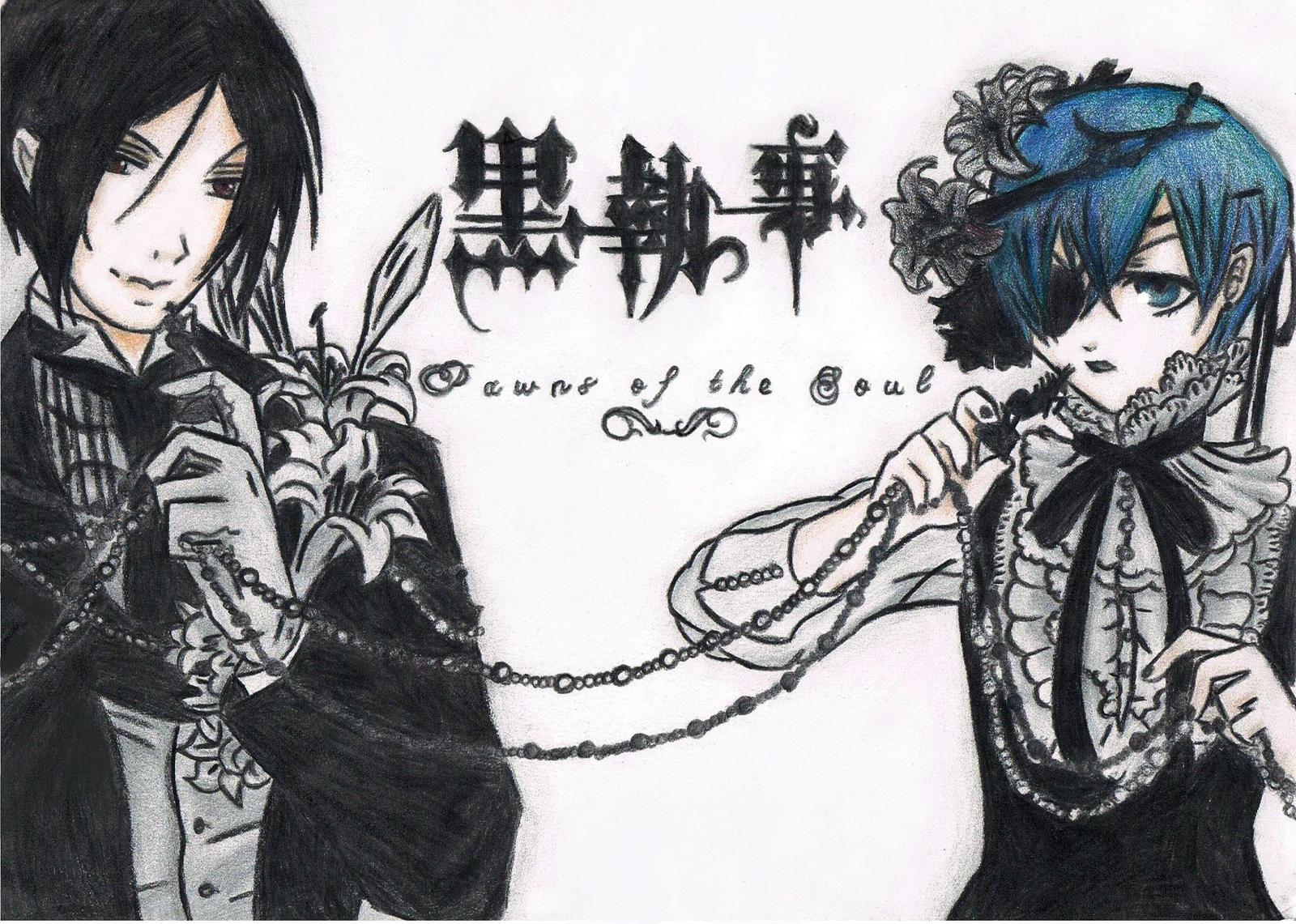 Ciel and Sebbie - Kuroshitsuji by DashaChii
