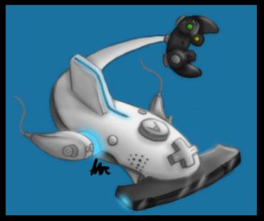 Wii Shark by ishchn