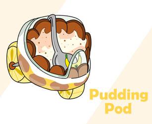 Sugar Rush Kart: Pudding Pod by Brianna-the-Toon