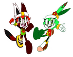 Sonic Riders: Sammy and Korral