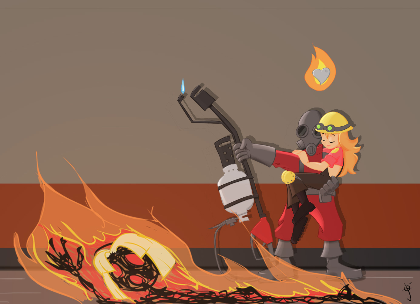 [Image: Pyro___Engie_Tan_by_JoPereira.jpg]