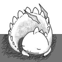 Sleepy Dwagon by Cloud-Breaker