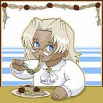 'Teggy Loves Spaghetti