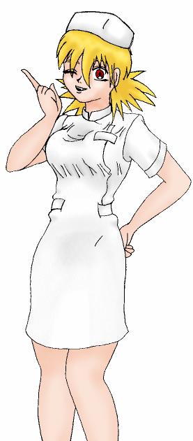 Vintage - Nurse Seras
