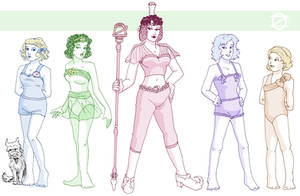 Oz Girls by ErinPtah