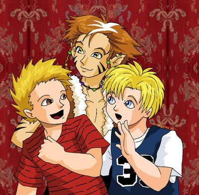 Calvin, Hobbes, Chris Orcot
