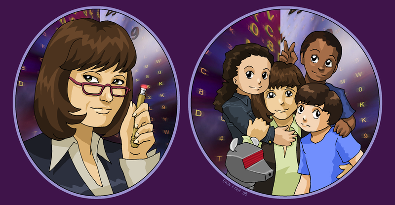 Sarah Jane and the kidlets by ErinPtah