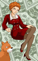Miss Ann Warbucks by ErinPtah