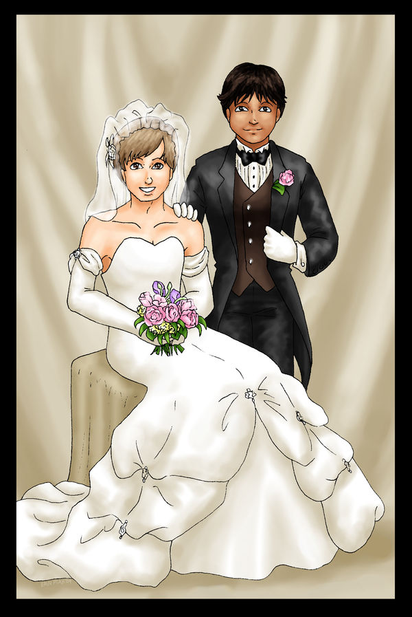 The Wedding Portrait by ErinPtah