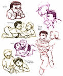 JxS - Puppy play sketches