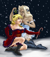 Christmas Fanservice 2009 by ErinPtah