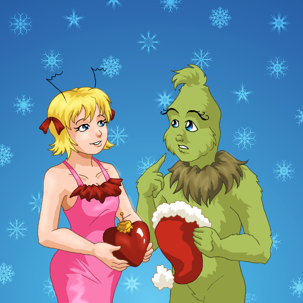 How The Grinch Stole A Heart By ErinPtah