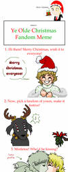 Hellsing Christmas Meme by ErinPtah