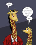 The Giraffe Problem by ErinPtah