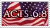 Colbert Stamp - Acts 6:8 by ErinPtah