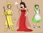 Emeralds - Characters II