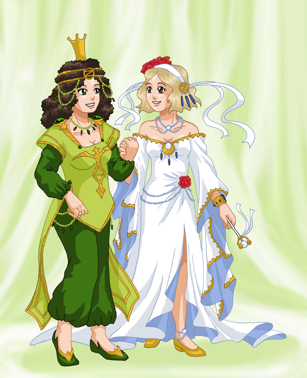 Their Royal Highnesses by ErinPtah