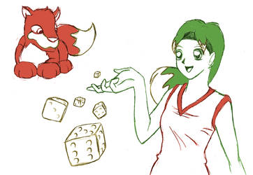 Roll of the Dice by ErinPtah