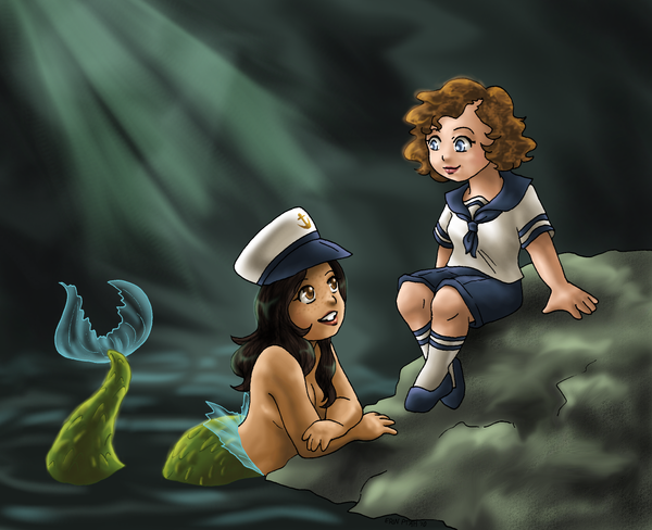 Fish Tale by ErinPtah