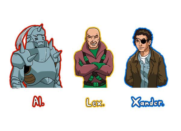 Al. Lex. Xander. by ErinPtah