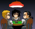 Dogs Of War Playing Poker
