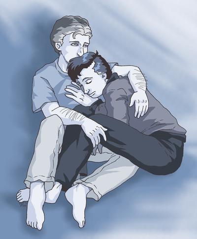 JxS - Blue - Embrace by ErinPtah