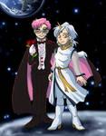 Tuxedo Chibi-Mask and Phoebe