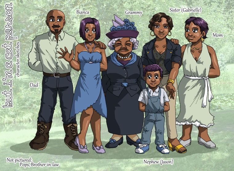 BICP - Characters V by ErinPtah