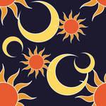 Tiles - Sun and Moon