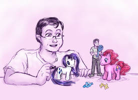 Tiny Jon Is The Best Pony by ErinPtah