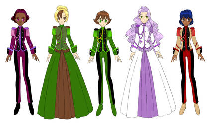 BICP - Duelists and Brides by ErinPtah