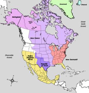 His Dark Materials - North America Map