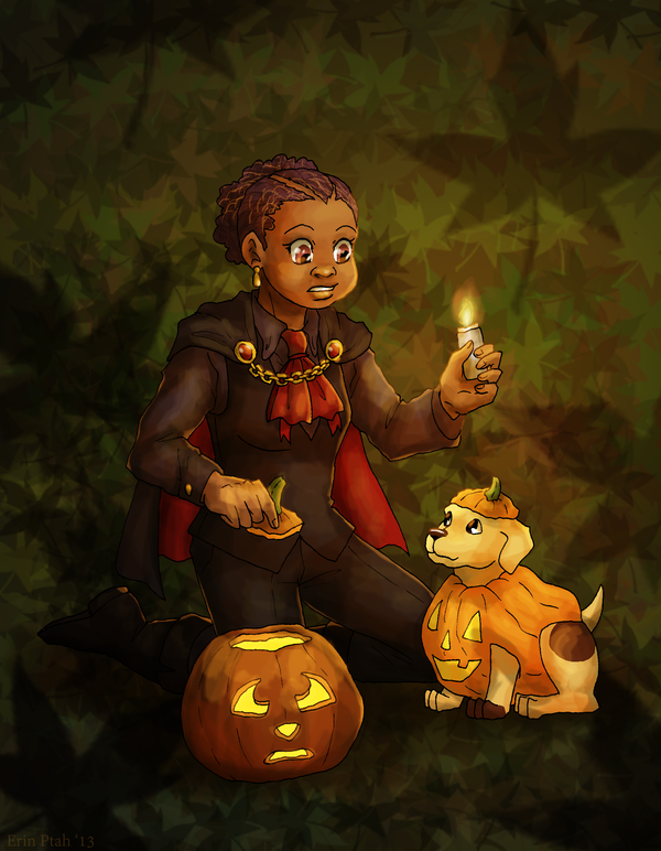 There's An Extra Pumpkin Here by ErinPtah