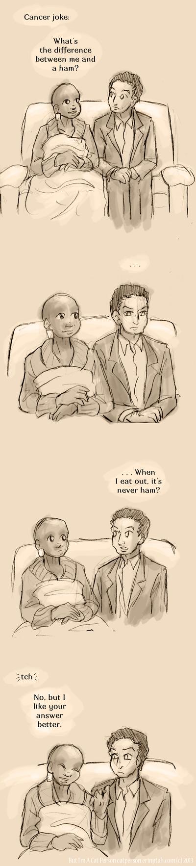 The Ham Joke by ErinPtah