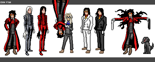 Dolls - Alucard (and Integra) by ErinPtah