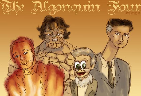 The Algonquin Four by ErinPtah