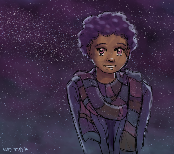 Starry Scarf Bianca by ErinPtah
