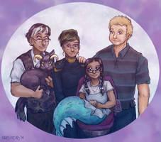 Palmer-Carlsberg Family Portrait by ErinPtah