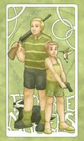 Steve and Renee Carlsberg - The Troublemakers by ErinPtah