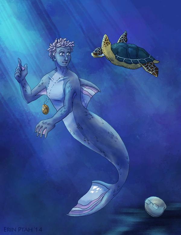 Best Underwater Friends Forever by ErinPtah